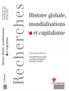 Histoire globale cover page